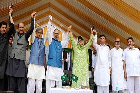 No one from the party ever questioned Mehbooba during last four years, now they are only trying to justify what is happening behind the curtains