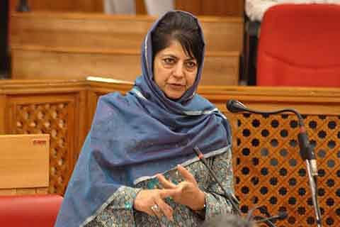 Out of his 56-inch chest, PM Modi needs to spare 1-inch for Kashmiris: Mehbooba