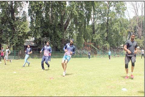 J&K cricketers undergo Yo-Yo test