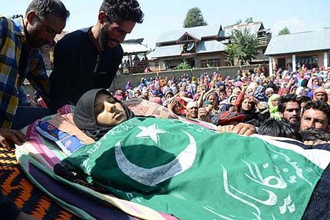 Mehbooba, Farooq, Omar grieved over Kulgam killings