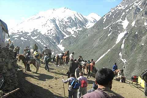Amarnath yatra resumes from Baltal