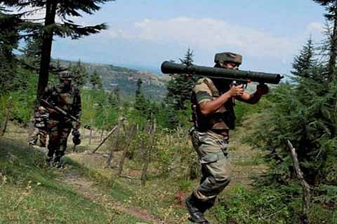 Soldier injured in sniper fire