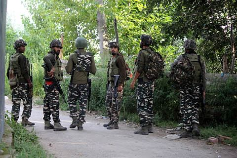 Search operation intensified after militants, security forces exchange fire in Verinag