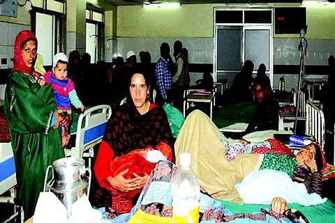 J&K has 1 doctor for every 3000 people