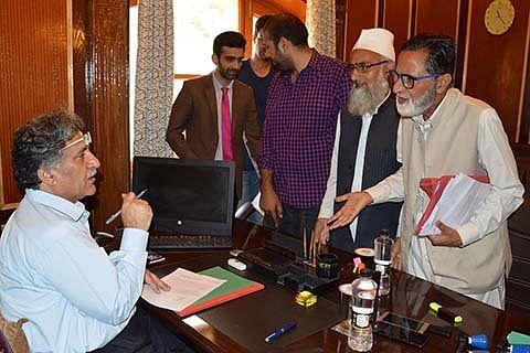ATOAK delegation calls on Advisor Ganai