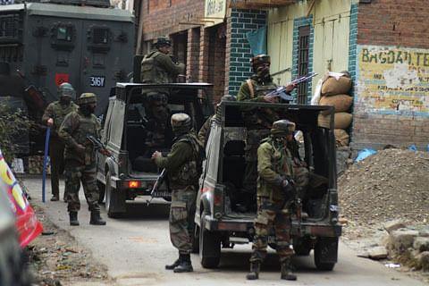 Gunfight underway in Sopore village in north Kashmir