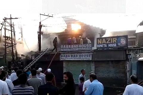 Fire damages two houses in Khanqah-e-Moula