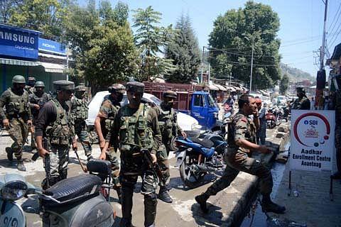 CRPF man, SPO injured in Anantnag grenade attack
