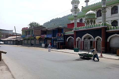 Article 35A: Chenab valley shuts