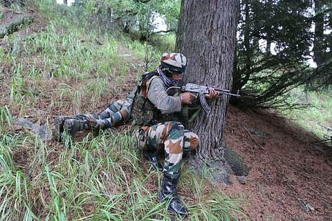 Brief gunfight in north Kashmir's Machil sector amid snowfall: BSF