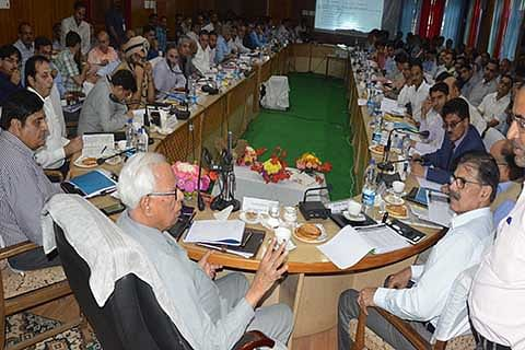 Governor in Kulgam: Rs 8 crore Dev Plan for 4 South Kashmir districts