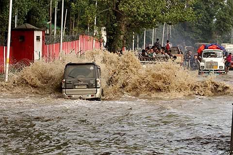 10 yrs on, 132 cr drainage project for Srinagar remains incomplete