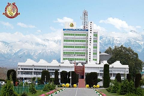 Rejig in Kashmir University as new VC takes over