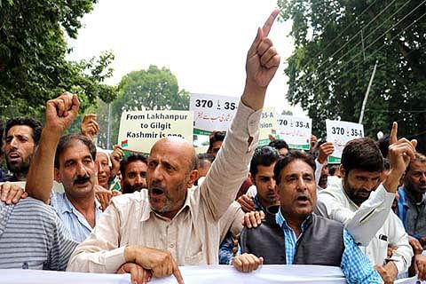 Er Rasheed's solidarity march foiled