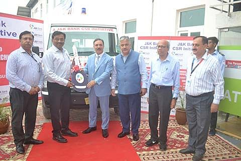 J&K Bank donates ambulance to IIT Jammu