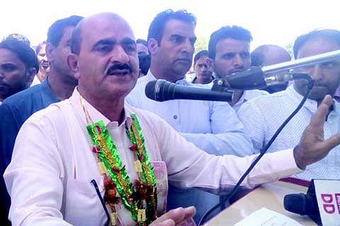 Fayaz Malik elected president Sopore Fruit Mandi