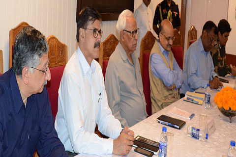 Governor Vohra chairs security meet, calls for heightened vigil on borders