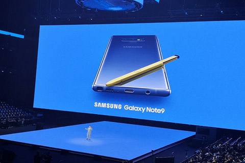 Samsung Galaxy Note 9 launched, Noida unit to make for India