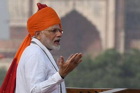 Embracing Kashmiris will resolve Kashmir, not bullet and abuse: PM Modi