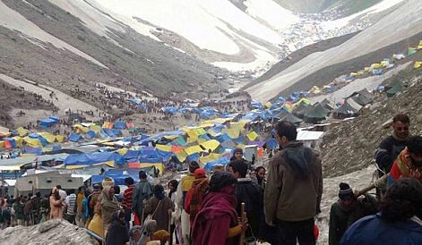 Registration for Amarnath Yatra-2021 temporarily suspended in view of COVID surge