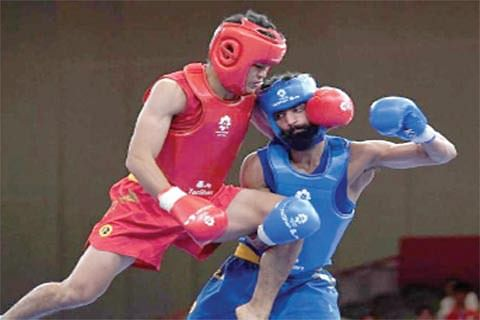 Wushu trials for Junior National  C'ship held