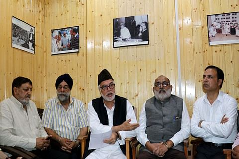Jammu and Kashmir: Civil society group threatens mass agitation if Article 35A is altered