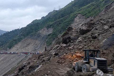 Jammu-Srinagar highway closed due to landslides