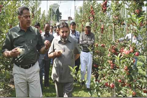 'High density concept can bring prosperity to farming community in J&K'