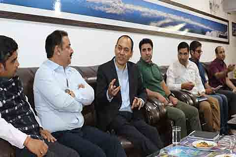Secy tourism reviews PMDP schemes at SKICC