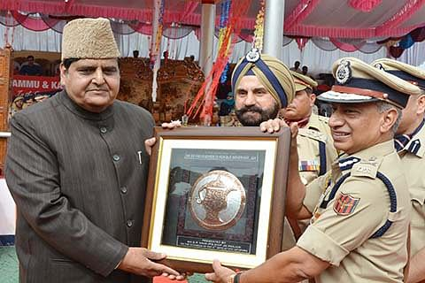 J&K Police proving its mettle in difficult times: Advisor Vyas