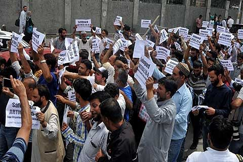 Banihal residents take out rally in support of Art 35-A