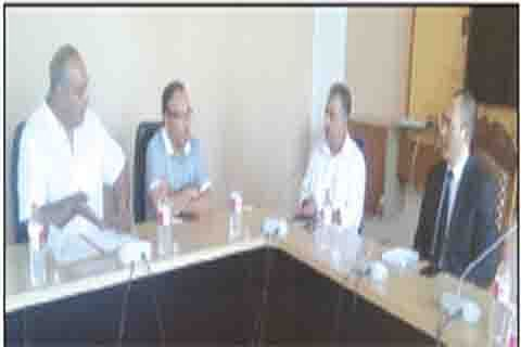Secretary tourism holds SKICC review meeting