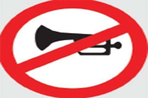 Authorities issue advisory on 'no horn zones'