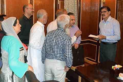 Advisor Kumar directs for redressal of public grievances