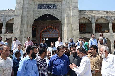 Muharram arrangements reviewed at Hassanabad, Zadibal