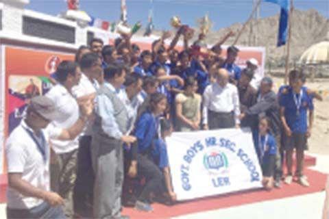 2000 students participate in ICICI Ladakh school Olympics