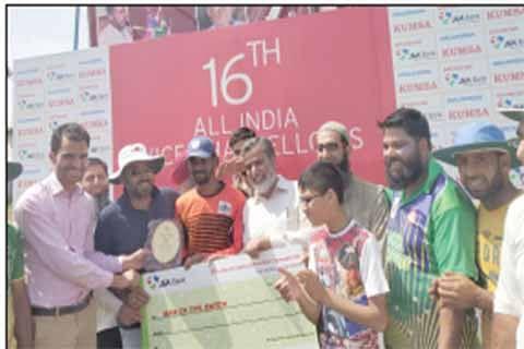 S P Pune University beat Central University Jammu by 9 wickets