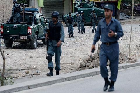 At least 20 killed in twin blasts at Kabul wrestling club
