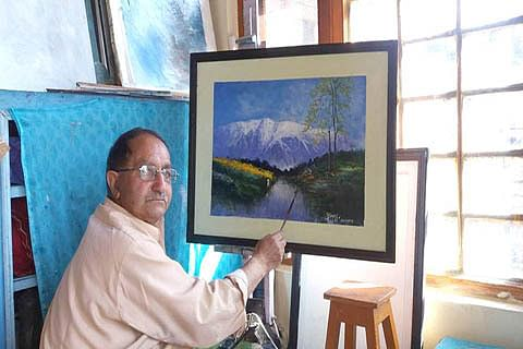 M Yousuf Bacha: The artist who started career at 58