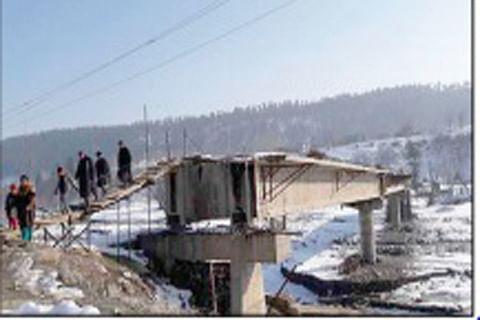 15 years on, Kupwara bridge incomplete