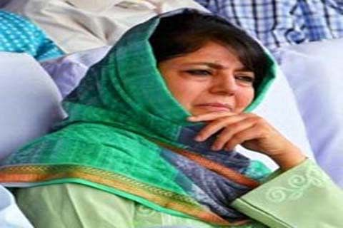 Make facts on J&K probes public: Mehbooba to NIA