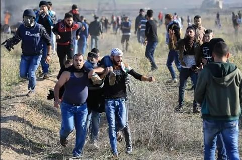 Palestinian teen shot dead by Israeli fire in Gaza border clashes: ministry