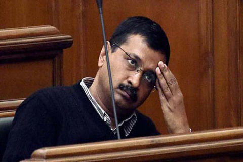 BJP controlling media by filing police cases against journalists: Kejriwal