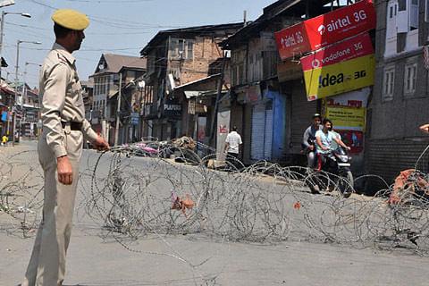 Curbs in parts of Kashmir capital tomorrow