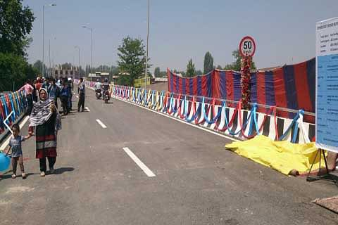 Natipora ramp of flyover thrown open 'Phase-II to be completed by January 2019'