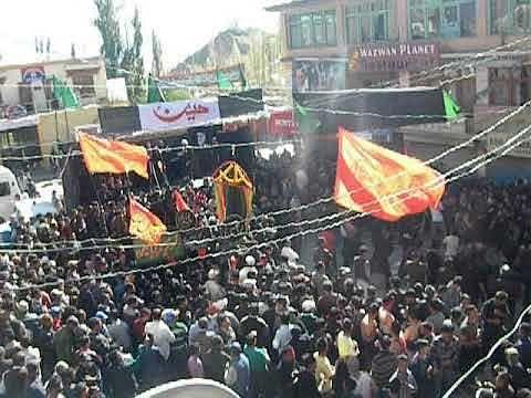 Ashura processions taken out in Leh, Kargil