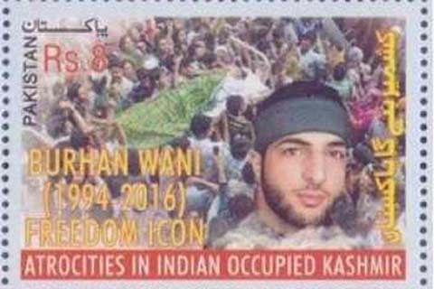 Pakistan Post issues stamps on Kashmiris