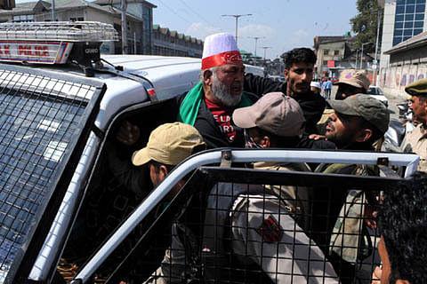 Restrictions to prevent Muharram procession in Srinagar