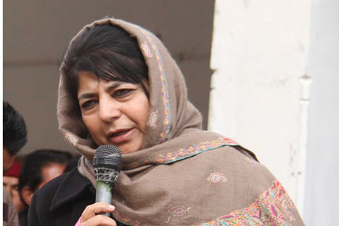 Centre's muscular policy not working in Kashmir: Mehbooba Mufti