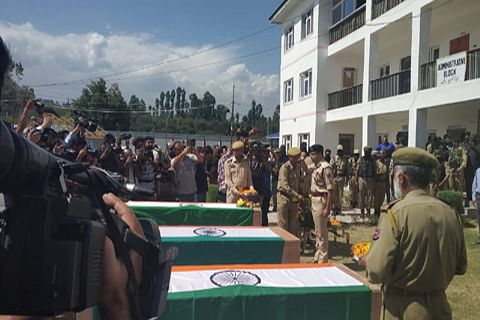 Three abducted policemen found dead in south Kashmir's Shopian